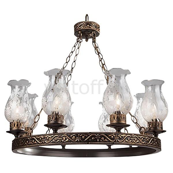 Подвесная люстра EurosvetКлассические потолочные светильники<br>Артикул - EV_68973,Серия - 531-532<br>
