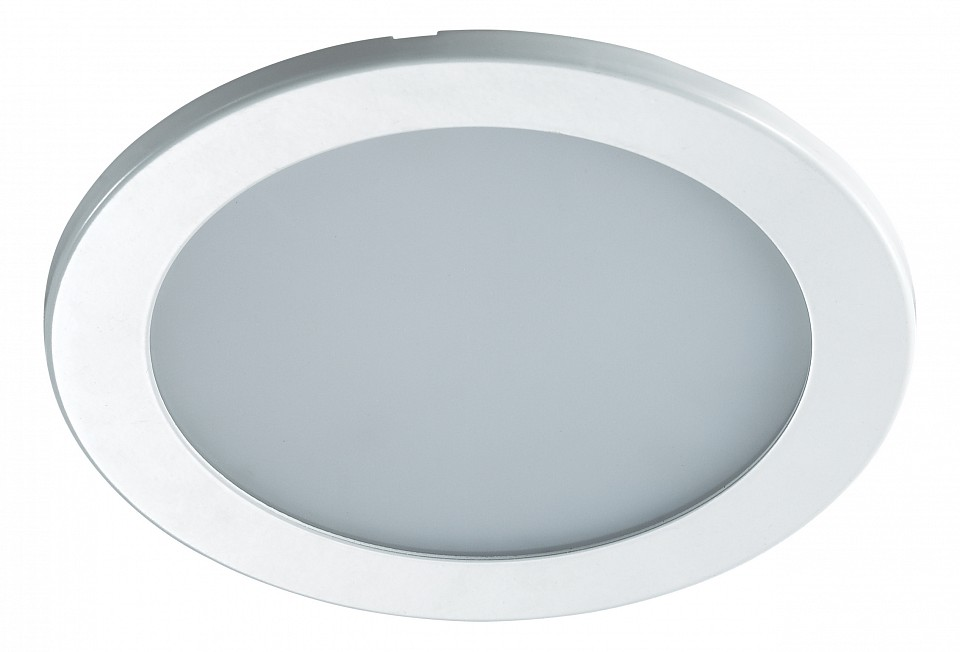 Встраиваемый светильник NovotechСветодиодные встраиваемые светильники<br>Артикул - NV_357172,Серия - Luna<br>