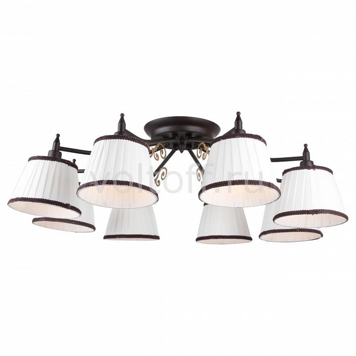Потолочная люстра Arte LampПотолочные светильники модерн<br>Артикул - AR_A6344PL-8BR,Серия - Capri<br>