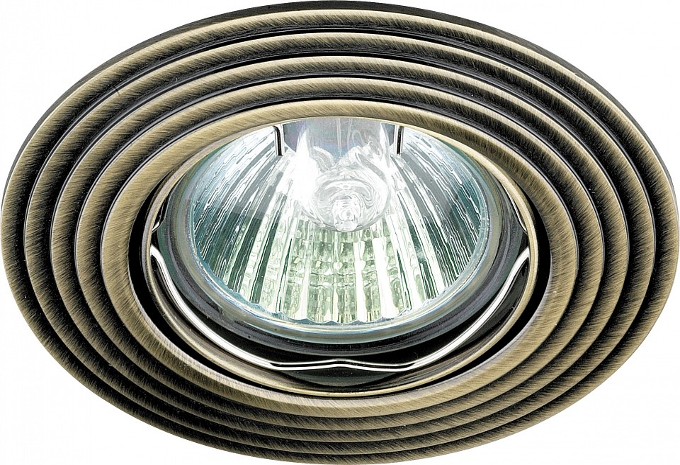 Встраиваемый светильник NovotechМеталлические светильники<br>Артикул - NV_369162,Серия - Antic<br>