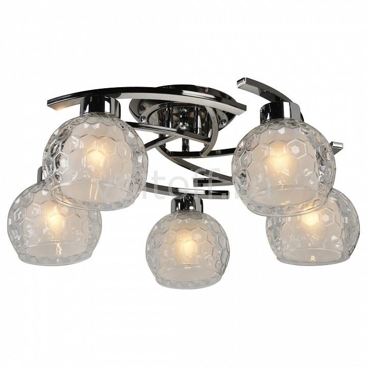 Потолочная люстра IDLampПотолочные светильники модерн<br>Артикул - ID_875_5PF-Darkchrome,Серия - 875<br>