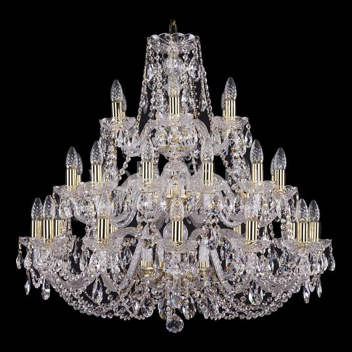 Подвесная люстра Bohemia Ivele CrystalЭлитные светильники<br>Артикул - BI_1406_12_12_6_300_G,Серия - 1406<br>