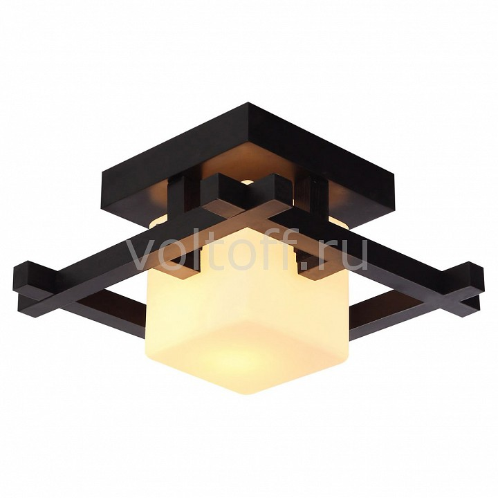 Накладной светильник Arte LampПотолочные светильники модерн<br>Артикул - AR_A8252PL-1CK,Серия - Woods<br>