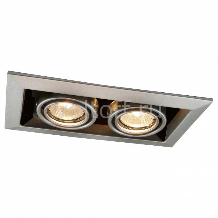 Встраиваемый светильник Arte LampСветильники для общественных помещений<br>Артикул - AR_A5941PL-2SI,Серия - Technika<br>