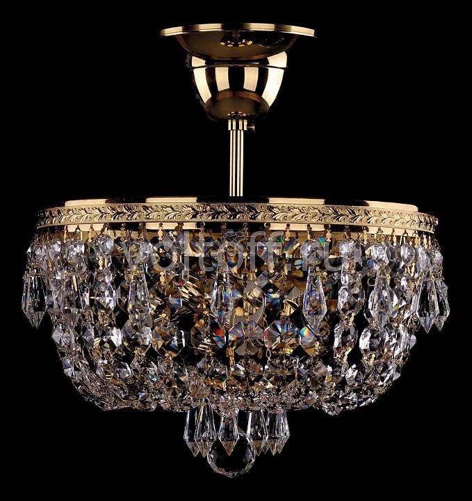Люстра на штанге Bohemia Ivele CrystalЭлитные светильники<br>Артикул - BI_1927_25_G,Серия - 1927<br>