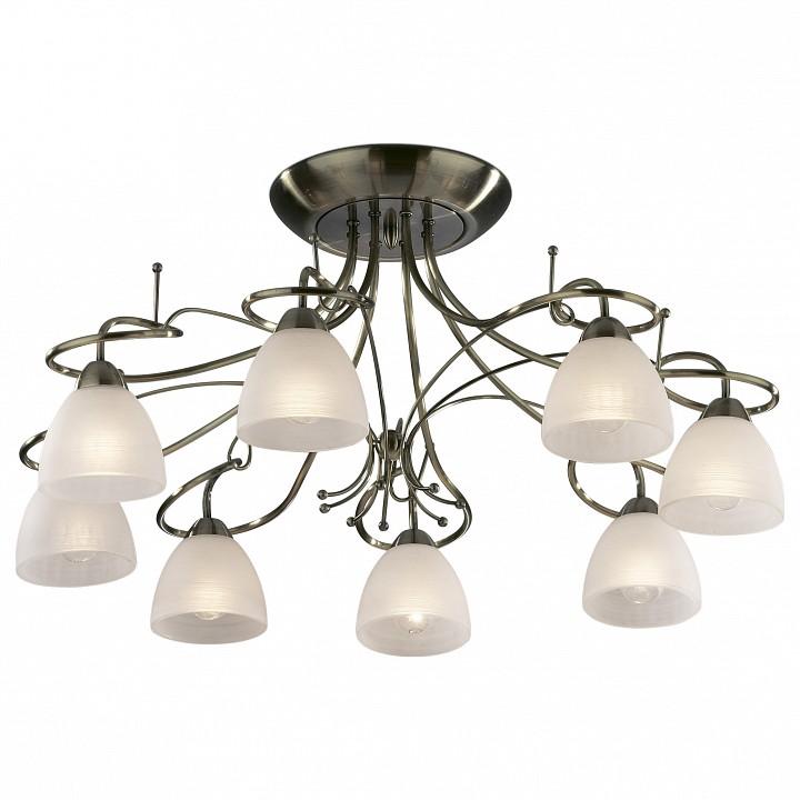 Потолочная люстра Odeon LightСветильники под бронзу<br>Артикул - OD_2120_8C,Серия - Kaena<br>