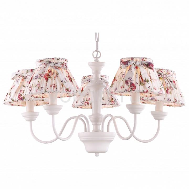 Подвесная люстра Arte LampКлассические потолочные светильники<br>Артикул - AR_A7020LM-5WH,Серия - Bambina<br>