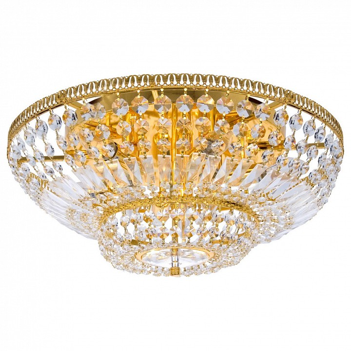 Потолочная люстра MW-LightХрустальные светильники<br>Артикул - MW_351010809,Серия - Изабелла 5<br>