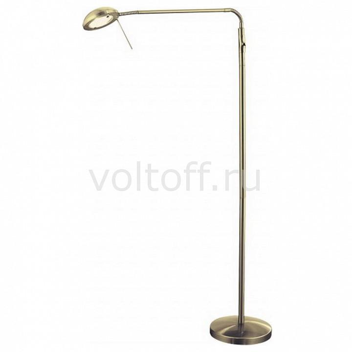 Торшер Arte LampТоршеры для гостиной<br>Артикул - AR_A2250PN-1AB,Серия - Flamingo<br>