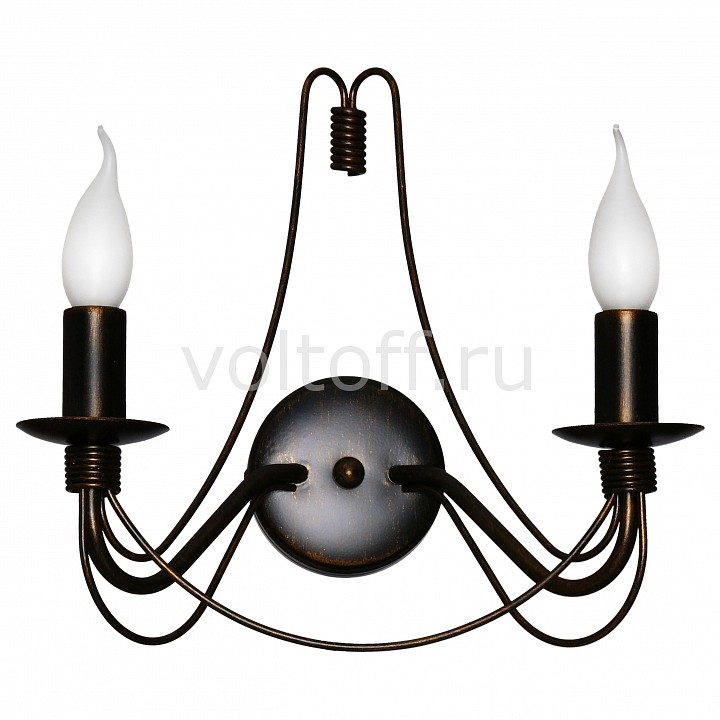 Бра АврораКлассические светильники<br>Артикул - AV_10010-2B,Серия - Замок<br>