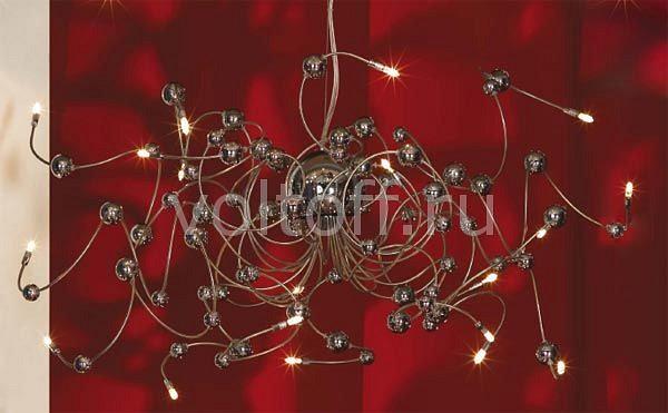 Подвесная люстра LussoleПотолочные светильники модерн<br>Артикул - LSQ-5413-20,Серия - Bitonto<br>