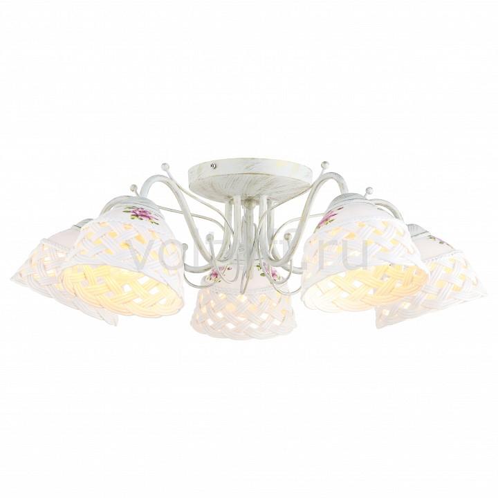 Потолочная люстра Arte LampПотолочные светильники модерн<br>Артикул - AR_A6616PL-5WG,Серия - Wicker<br>