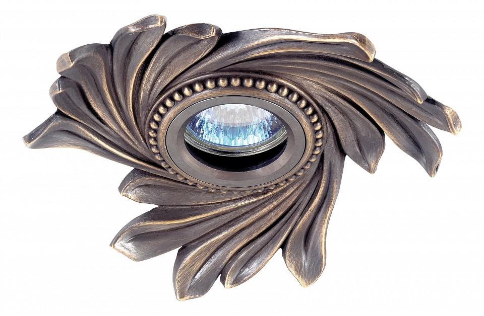 Встраиваемый светильник NovotechСветильники под бронзу<br>Артикул - NV_369963,Серия - Vintage<br>