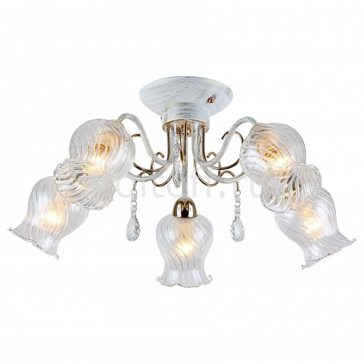 Потолочная люстра FavouriteКлассические потолочные светильники<br>Артикул - FV_1615-5U,Серия - Fiore<br>