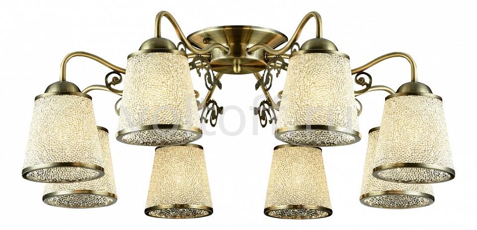 Потолочная люстра MaytoniСветильники под бронзу<br>Артикул - MY_TOC017-08-R,Серия - Ring<br>