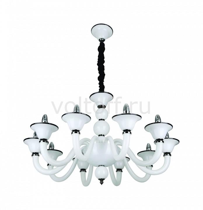 Подвесная люстра IDLampКлассические потолочные светильники<br>Артикул - ID_488_10-white,Серия - 488<br>