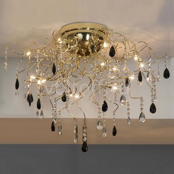 Потолочная люстра LussoleЭлитные светильники<br>Артикул - LSC-2913-15,Серия - Benevento<br>
