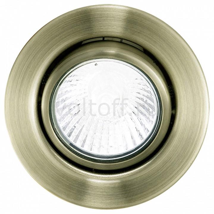 Встраиваемый светильник EgloСветильники под бронзу<br>Артикул - EG_80385,Серия - Einbauspot 12 V<br>
