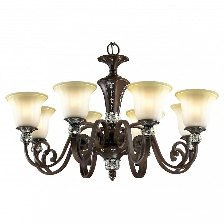Подвесная люстра Odeon LightКлассические потолочные светильники<br>Артикул - OD_2784_8,Серия - Ridera<br>