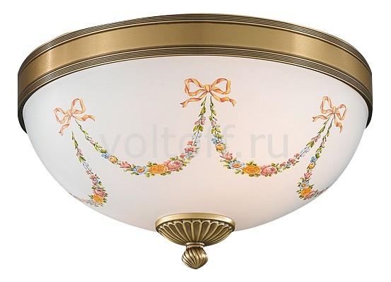 Накладной светильник Reccagni AngeloСветильники под бронзу<br>Артикул - RA_PL_8000_2,Серия - 8000<br>