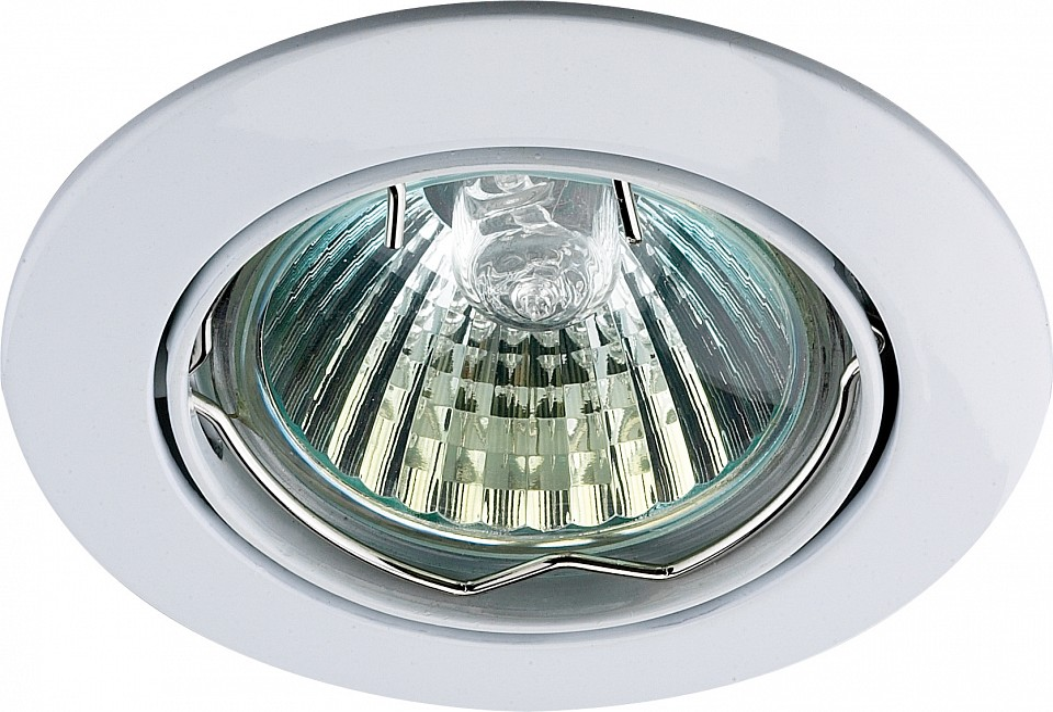 Встраиваемый светильник NovotechМеталлические светильники<br>Артикул - NV_369100,Серия - Crown<br>