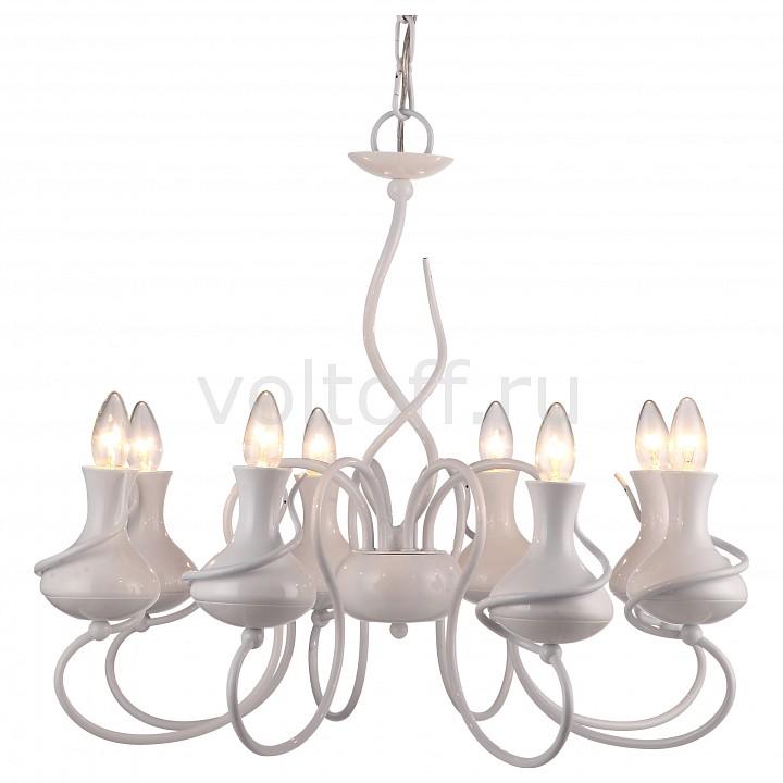 Подвесная люстра Arte LampПотолочные светильники модерн<br>Артикул - AR_A6819LM-8WH,Серия - Vaso<br>