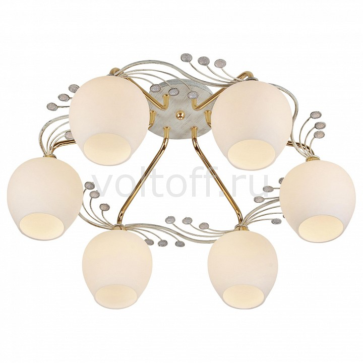 Потолочная люстра CitiluxПотолочные светильники модерн<br>Артикул - CL153162,Серия - Сюита<br>