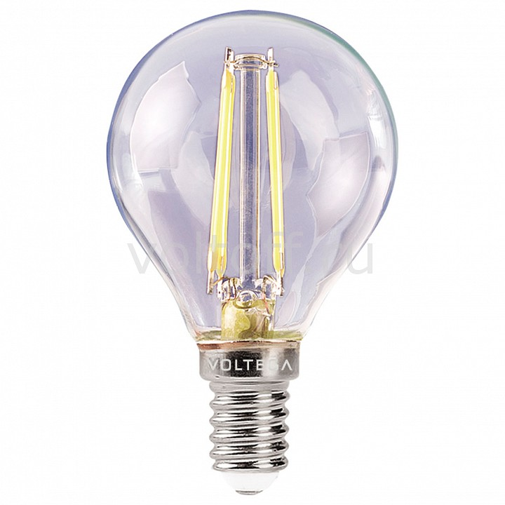 Лампа светодиодная Voltega E14 220В 4Вт 4000K Loft VG1-G1E14cold4W-F