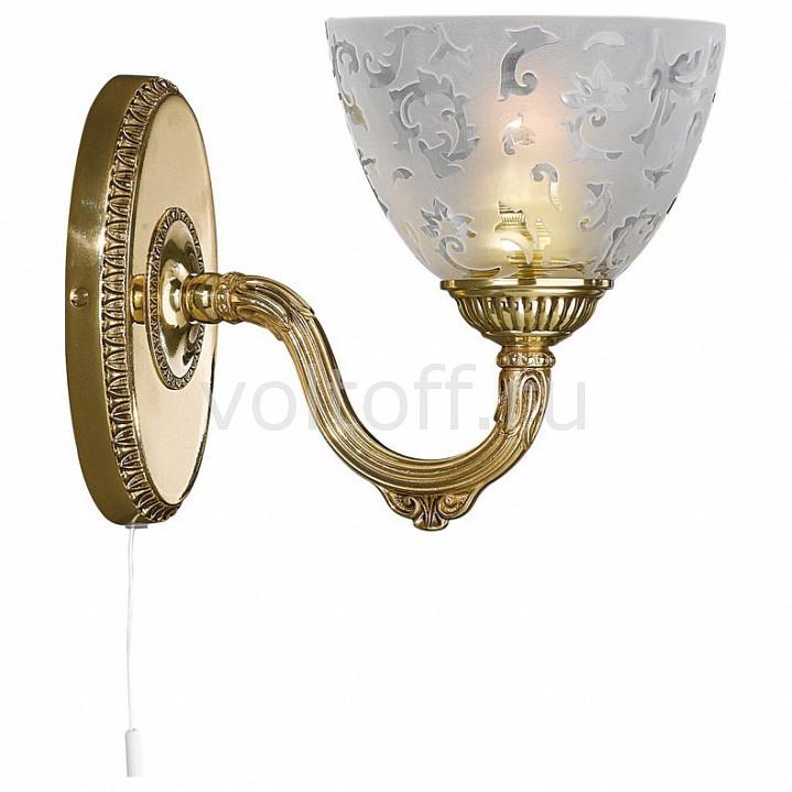 Бра Reccagni AngeloКлассические светильники<br>Артикул - RA_A_6352_1,Серия - 6352<br>
