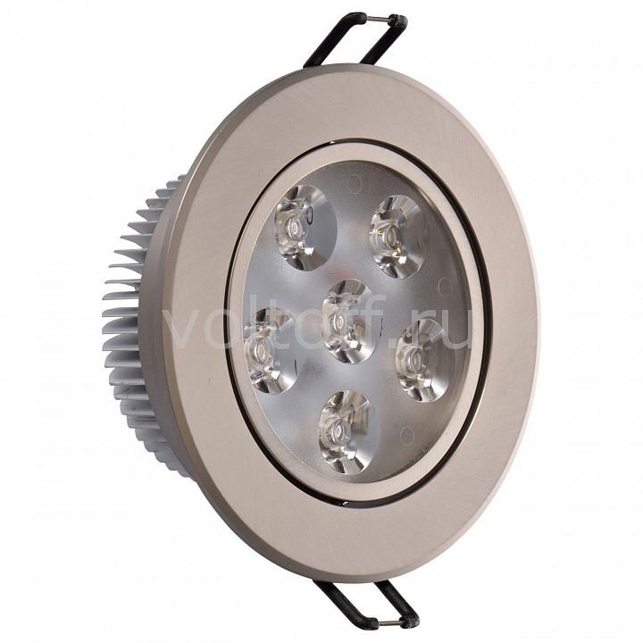 Встраиваемый светильник MW-LightСветодиодные встраиваемые светильники<br>Артикул - MW_637013006,Серия - Круз<br>