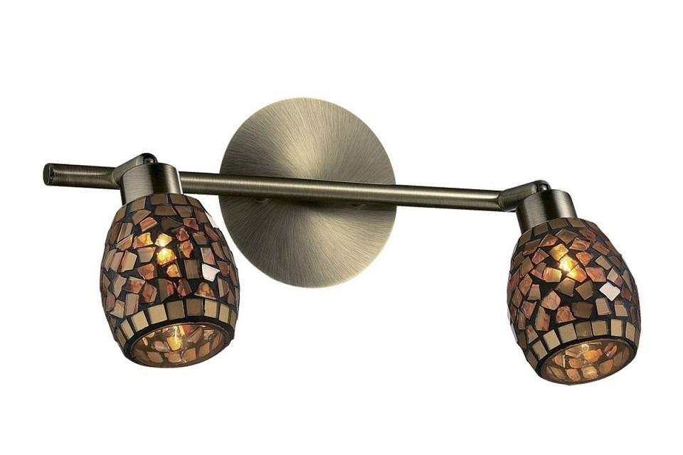 Спот Odeon LightСветильники под бронзу<br>Артикул - OD_2167_2W,Серия - Glosse<br>
