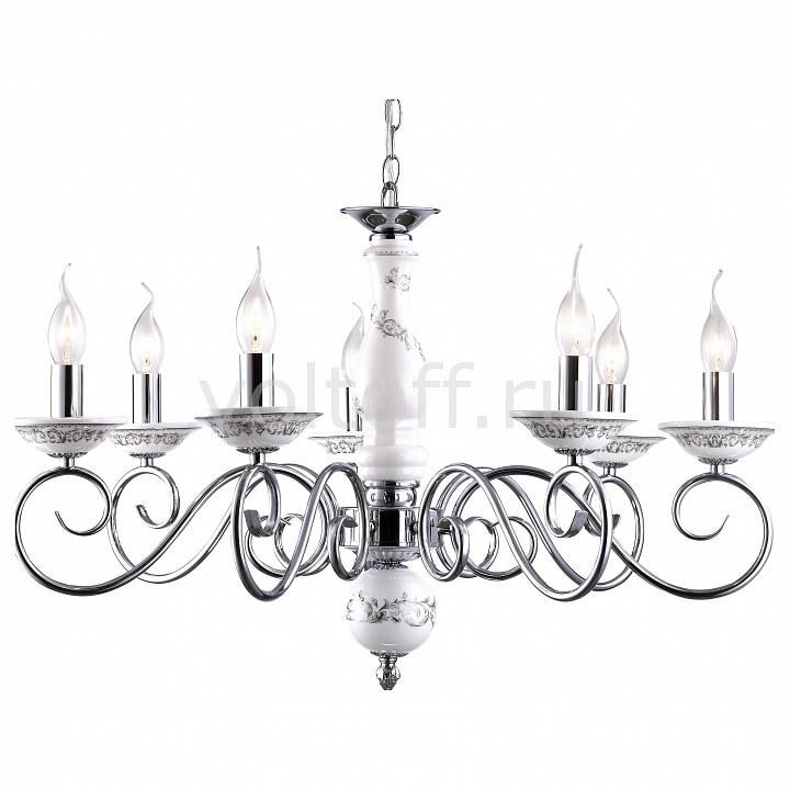 Подвесная люстра Arte LampКлассические потолочные светильники<br>Артикул - AR_A9593LM-7CC,Серия - Sonia<br>