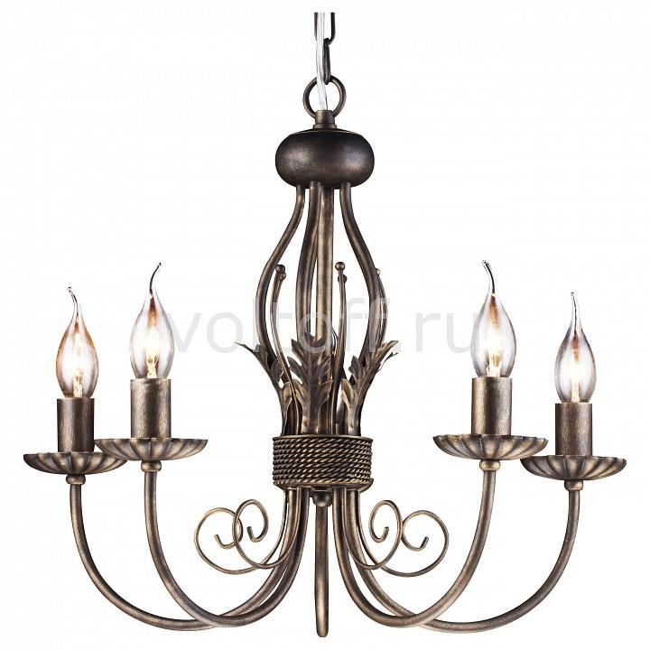 Подвесная люстра Arte LampКлассические потолочные светильники<br>Артикул - AR_A3057LM-5BR,Серия - Dolce<br>
