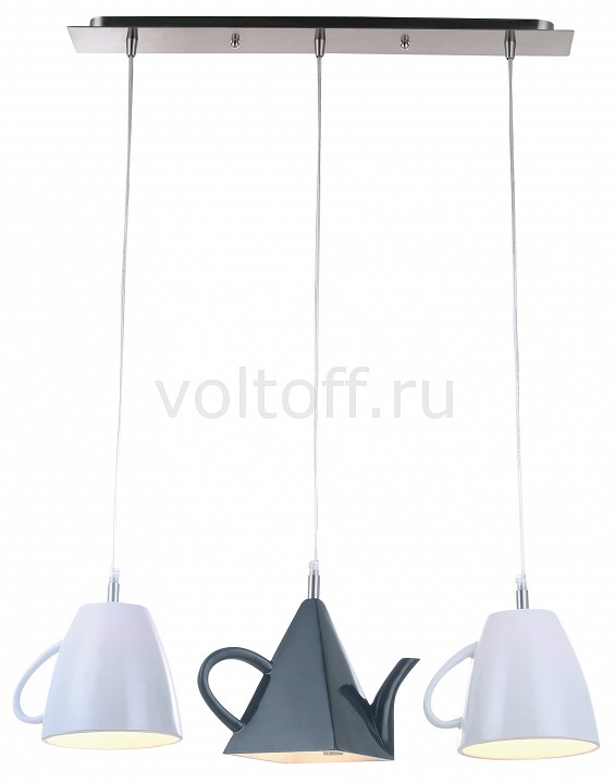 Подвесной светильник Arte LampПодвесные светильники модерн<br>Артикул - AR_A6604SP-3WH,Серия - Brooklyn<br>