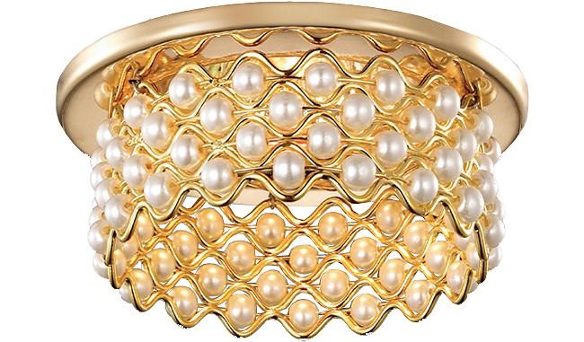 Встраиваемый светильник NovotechМеталлические светильники<br>Артикул - NV_369891,Серия - Pearl<br>