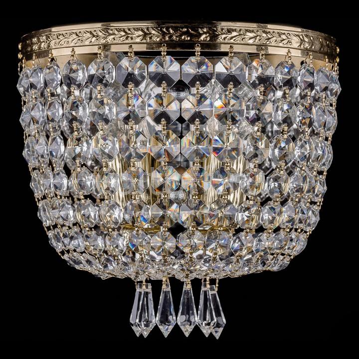 Накладной светильник Bohemia Ivele CrystalЭлитные светильники<br>Артикул - BI_1927_2_W_G,Серия - 1927<br>