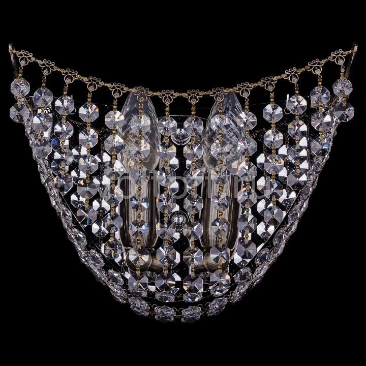 Накладной светильник Bohemia Ivele CrystalЭлитные светильники<br>Артикул - BI_7708_2_W_Pa,Серия - 7708<br>