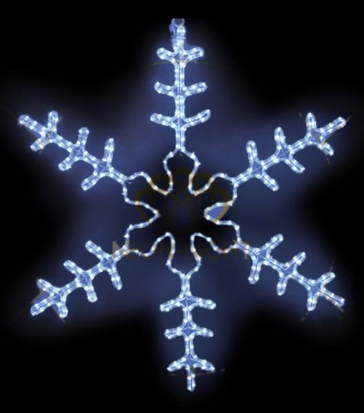 Панно световое (95x95 см) Большая Снежинка NN-501 501-332