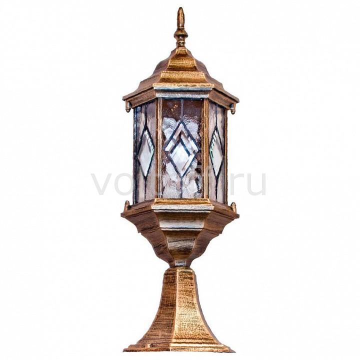 Наземный низкий светильник FeronКлассические светильники<br>Артикул - FE_11346,Серия - Витраж с ромбом<br>