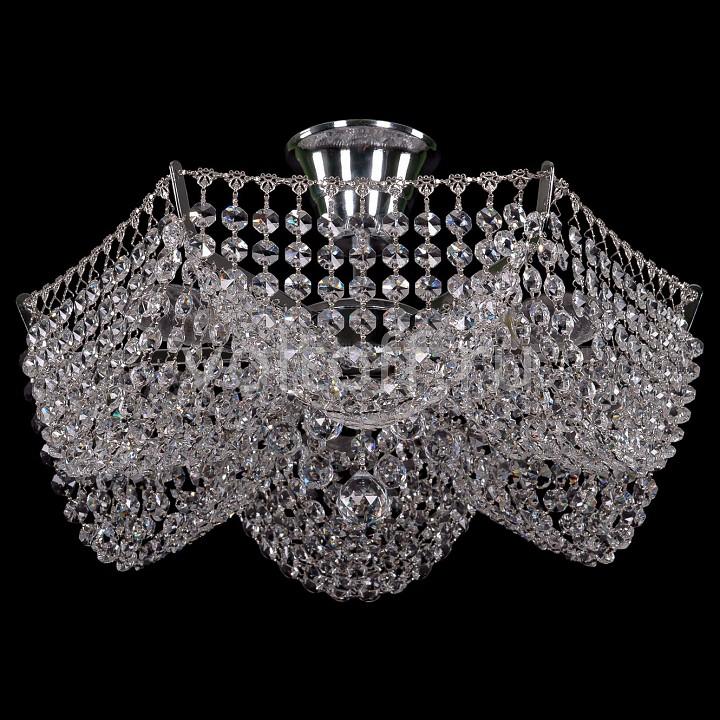 Люстра на штанге Bohemia Ivele CrystalЭлитные светильники<br>Артикул - BI_7708_3_Ni,Серия - 7708<br>
