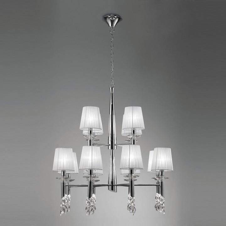 Подвесная люстра MantraКлассические потолочные светильники<br>Артикул - MN_3850,Серия - Tiffany<br>