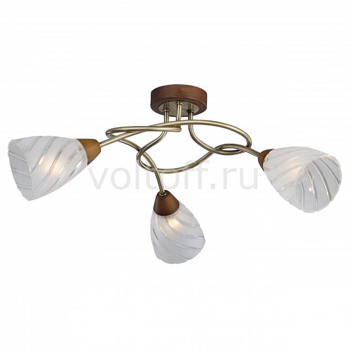 Потолочная люстра LussoleСветильники под бронзу<br>Артикул - LSP-0103,Серия - LGO-4<br>