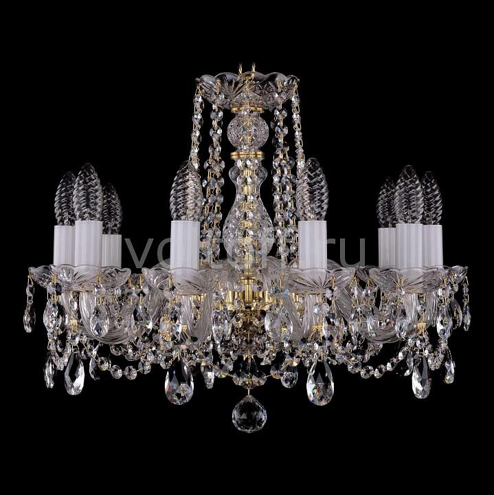 Подвесная люстра Bohemia Ivele CrystalЭлитные светильники<br>Артикул - BI_1402_10_160,Серия - 1402<br>