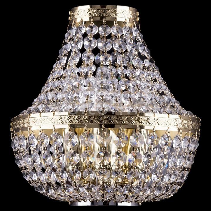 Накладной светильник Bohemia Ivele CrystalЭлитные светильники<br>Артикул - BI_2160_3_GD,Серия - 2160<br>