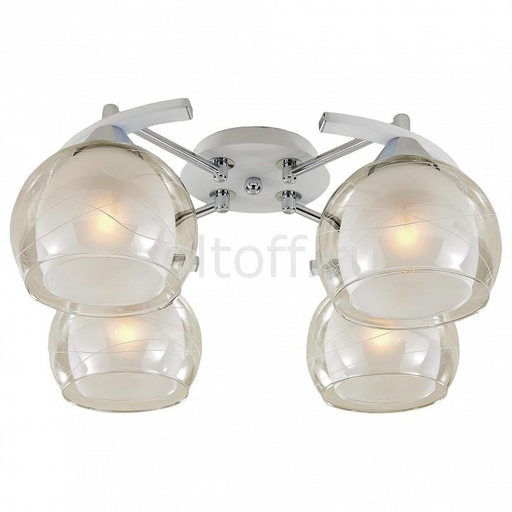 Потолочная люстра CitiluxПотолочные светильники модерн<br>Артикул - CL157141,Серия - Буги<br>