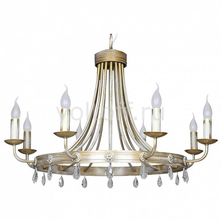 Подвесная люстра АврораЭлитные светильники<br>Артикул - AV_10034-8L,Серия - Золотой рыцарь<br>