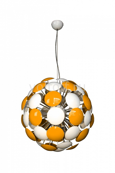 Подвесной светильник Luce SolaraПодвесные светильники модерн<br>Артикул - LC_3028_6S_Orange_White,Серия - 3028<br>