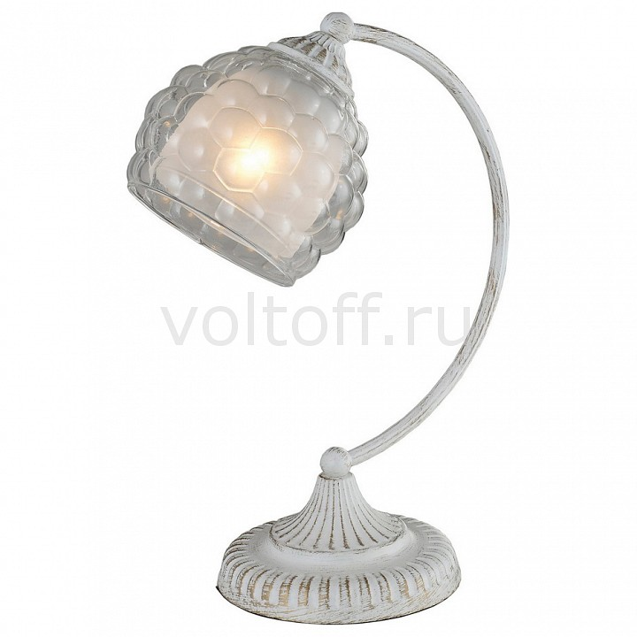 Настольная лампа IDLamp декоративная Bella 285/1T-Whitepatina