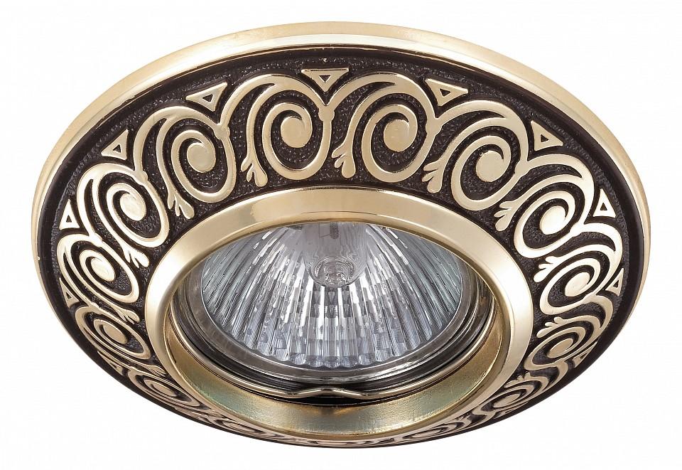 Встраиваемый светильник NovotechКлассические потолочные светильники<br>Артикул - NV_370002,Серия - Vintage<br>