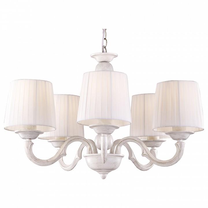 Подвесная люстра Arte LampКлассические потолочные светильники<br>Артикул - AR_A9395LM-5WG,Серия - Alba<br>
